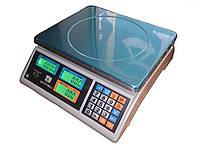 Весы торговые ВТЕ-Центровес-6Т1ДВ-(ЖК), до 6 кг. Сертифицированные.