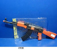 Автомат-трещетка AK47-112 144шт2 в пакете 49 см