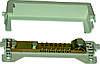 Шина в корпусе 7 проводников к 25mm, 1 проводник диаметр до 11mm, max до 100 кА, Electro