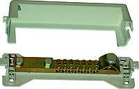 Шина 7 проводников к 25mm, 1 проводник диаметр до 11mm, max до 100 кА, Electro