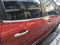 Молдинг стекол пежо 208