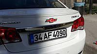 CHEVROLET CRUZE Накладка над номером на крышку багажника OmsaLine