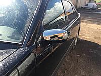 Mercedes E-klass W210 Накладки на зеркала (2 шт, нерж)
