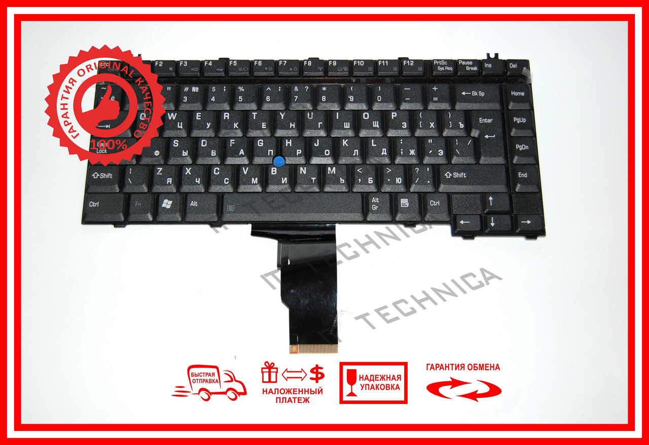 Клавіатура TOSHIBA 2450 M30X A10 E15 трекпоинт