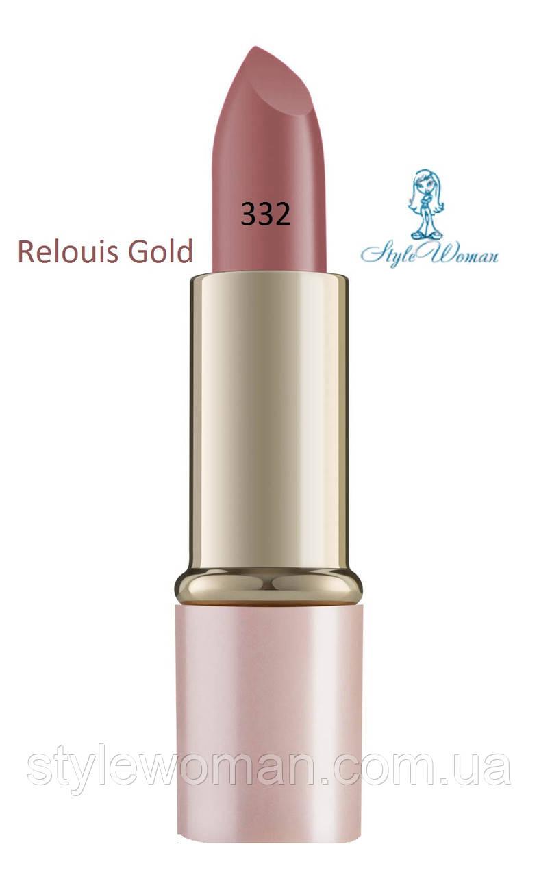 Помада для губ Relouis Gold релуи тон 332