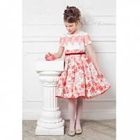 Платье пышное на кокетке из кружева Choupette  Церемония 215.43