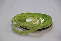 Лента люрикс (парча) 0,7см №19 светло зеленый