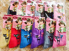 """Носки для девочек """"Модная кошка"""" 32-37"""