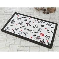 Набор ковриков для ванной Marie Сlaire Miss черный 57*100 + 57*57