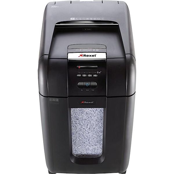 REXEL AUTO+ 300М микро-перекрестный измельчитель документов