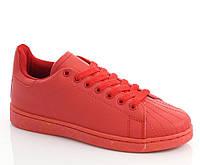Женские кроссовки красного цвета