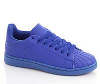 Женские кроссовки синего цвета 90024