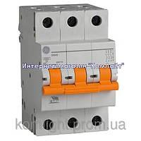 Автоматический выключатель DG 63 C32 6kA 3P 32А General Electric (Венгрия), фото 1