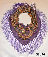Павлопосадский шерстяной платок (52004)