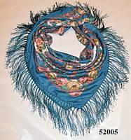 Павлопосадский шерстяной платок (52005), фото 1