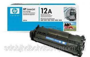 Заправка картриджа HP Q2612A для принтера LJ 1010, 1012, 1015, 1018, 1020, 1022, 3015, 3020, 3030, 3050, 3052,