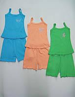 Акция 1+1. Пижама для девочки,100 % хлопок, интерлок, р.р. 26.