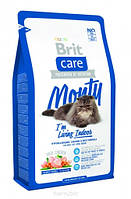 Brit Care(Брит Кеа) Cat Monty I'm Living Indoor - корм для домашних кошек (курица рис) 7кг
