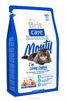 Brit Care Cat Monty I'm Living Indoor - Брит корм для домашних кошек (курица рис) 7кг