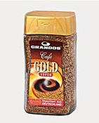 """Кофе """"Grandos"""" Gold в кристаллах 100 г"""