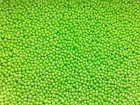 Посыпка сахарная для торта, пирожных Нонпарель светло-зеленая, 100 г