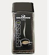 """Кофе """"Grandos"""" Эспрессо в кристаллах 100 г"""