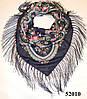 Павлопосадский шерстяной платок (52010)
