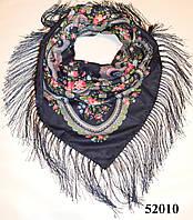 Павлопосадский шерстяной платок (52010), фото 1