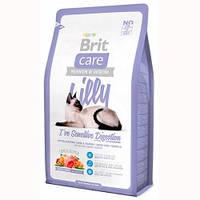 Brit Care LILLY Sensitive Digestion Гипоаллергенный корм для кошек с ягненком и лососем 7кг