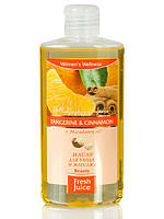 "Масло для ухода и массажа Tangerin&Cinnsmon  Macadamia oil 150мл ""Fresh Juice"""