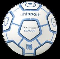 Мяч футбольный Uhlsport Tri Concept Series LEAGUE white/blue
