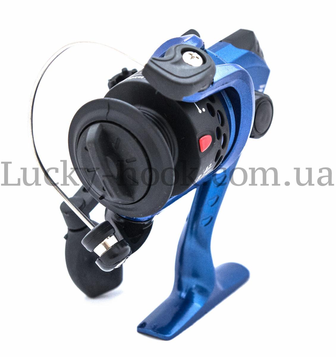 Катушка безынерционная для удочки синяя Winner EF200 4b