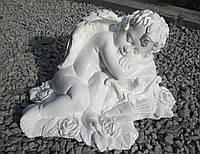 Ангелочек из полимербетона Амур 43*23*30 см