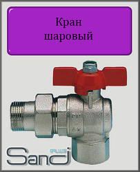 """Кран кульовий з американкою 3/4"""" ВН SANDI PLUS"""