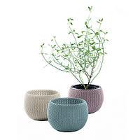 Набор горшков для цветов 3 шт., Cozies Herb Pot Keter