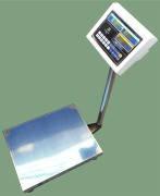 Напольные весы ВПЕ-Центровес-405-150-ДВ, до 150 кг,  размер площадки 400х500 мм. С поверкой.