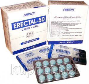 Эректал 50 натуральные таблетки для лечения урологических заболеваний