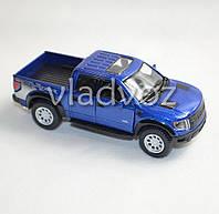 Машинка Ford raptor Spercrew 150 метал 1:32 чёрная