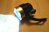 Светодиодный фонарь на батарейках CR2032 для велосипедов на руль, фото 4