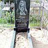 Памятник гранитный одинарный Божья Матерь