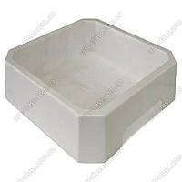 Прочная песочница для кинетического песка WabaFun белая