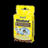 Тетра Мин Викэнд - корм для всех видов аквариумных рыб на время отпуска