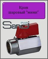 """Кран шаровый мини 1/2"""" ВН SANDI PLUS"""