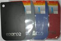 Брызговик SPARCO Большой Белый  к-кт 4шт