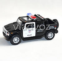 Машинка Hummer H2 SUT Pull Back метал 1:40 Police