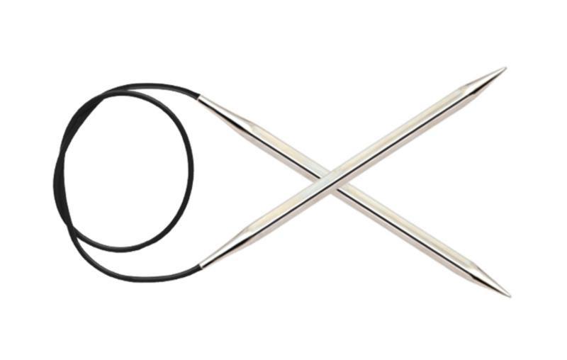 Спицы круговые 80 см Nova Cubics KnitPro, 4,00 мм