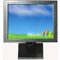 15-дюймовый POS монитор с сенсорным экраном (USB/VGA) 5-ти проводной резистивный сенсорный экран