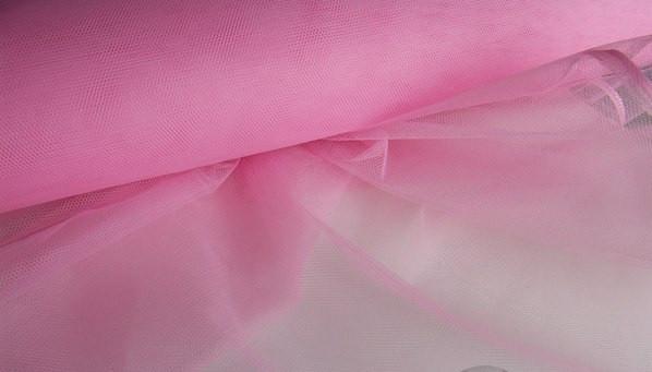Фатин, нежно розовый