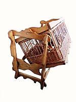 Плетеная мебель, Детская Колыбель из лозы