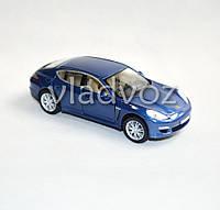 Машинка Porshe Panamera метал 1:40 синяя